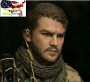 1/6 Male Head Soldier X Emile Hirsch For 12 Figure Phicen Hot Toys ❶usa❶