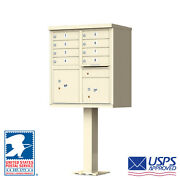 8 Door Florence Cluster Mailbox - Usps Approved - Free Shipping And Engraving