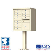 12 Door Locking Cluster Mailbox - Usps Access - Free Shipping And Engraving