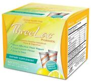 Threelac Probiotic Lemon Flavored Dietary Supplement 60 Packets