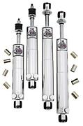 Viking Smooth Body Adjustable Front And Rear Shock Kit 71-74 Dodge Plymouth B Body
