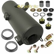 Exhaust Muffler Silencer And Kit For Polaris Sportsman 800 6x6 Efi 09-14 W/donuts