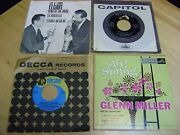 Lot Of 17 Assorted Vintage Vinyl Oldies And Classics Records 45's