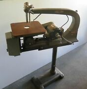 Delta Rockwell Model 40-440 Wood Working Scroll Saw 1/3 Hp Motor Usa Made