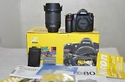 Nikon D80 10.2 Mp Digital Slr Camera - Black W/ 18-135mm Lens- Only 372 Clicks