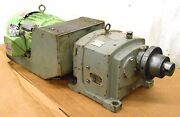 Us Electrical Motors Gear Reducer Type Gdm Frame 22 3 Hp 3 Ph 230/460 Volts