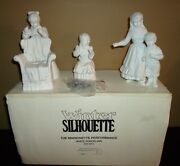 Department 56 Winter Silhouette The Marionette Performance Set Of 3