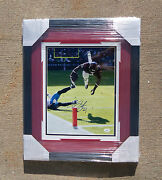 Jsa Houston Texans 23 Arian Foster Signed Autographed Framed And Matted Photo