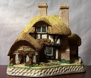 Moonlight Haven Cottage By David Winter-collectible-1991-beautiful Detail/paint