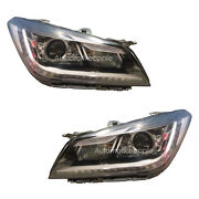 Front Light Head Lamp Assembly 2p For Hyundai Genesis Dh