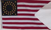 Heavy Cotton 35 Star Union Cavalry Guidon Flag Embroidered Stars Usa Historical