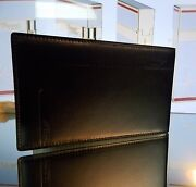 St Dupont 007 James Bond Leather Credit And Business Card Holder Notepad With Pen
