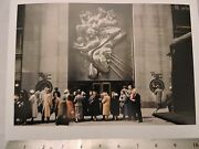 1941 Associated Press Rockefeller Center New York City Nyc Color Photo