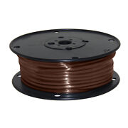 Wire 10 Awg Brown 100ft Roll Ul Fine Strand Tinned Copper