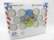 New Unopened - 50 State Quarters For Kids W/ State Stickers And Kid Drawings