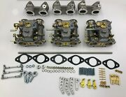 Bmw M30 2800 Bavaria 3.0 Weber 40 Dcoe Conversion Kit Every Thing Is New