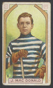 1911-12 C55 Imperial Tobacco Hockey 8 Jack Macdonald Stanley Cup Champion