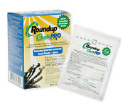 Roundup Quikpro Herbicide 1.5 Oz. 73.3 Quick Pro 20 Packets Makes 20 Gallons