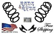 2004-2009 Dodge Durango Aspen 2wd 4wd 3 Drop Rear Coil Springs Ext Lowering Kit