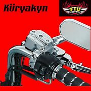 Kuryakyn Chrome Brake And Clutch Control Dress-up Kit For H-d Touring 9119