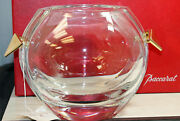 Baccarat Crystal Ice Bucket, 123 - Limited Edition, 8h - 895 V Mint W/box