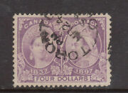Canada 64 Extra Fine Used With Toronto Cds Cancel In Black - Light Creases