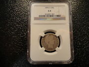 1896-s Barber Quarter Ngc G 4- Key Date-silver- Rare- Discount-offers-circulated