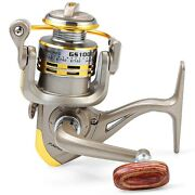 Fishing Reel Roller Bb Ratio Gear Spinning Rod Silver Small Mini Micro Tiny Gold