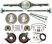 Currie 70-87 Chevy C10 6-lug Truck Rear End And Disc Brakeslinesparking Cables