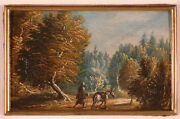 Jan Wildens-studio Landscapes Two Oil Miniatures 1st Half Of 17th Cent
