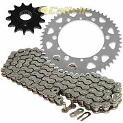 Drive Chain And Sprockets Kit For Yamaha Ttr250 Tt-r250 1999-2006