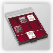 Lighthouse Graded Coin Slabs Box Collector Gift Silver Gold Collection 1 Unit