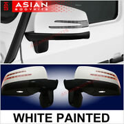 For Mercedes Benz W463 G Class G500 G55 Mirrors Facelift White 2000 - 2012