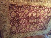 Couristan Lahore 8'6 X 11'6 Rug. Color Is Wine And Gold.