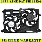 Radiator Cooling Fan Assembly For Lincoln Mkz Ford Fusion Fo3115208