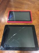 Ematic Ego800bl 8 Inch Tablet Plus 7 Inch Unknown Tablet For Parts