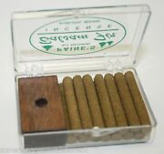 Incense And Burner Comes W/ 14 Balsam Fir Sticks Paineand039s Wood Holder Lodge Style