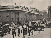 The Bank Of England. London. Finance 1896 Old Antique Vintage Print Picture