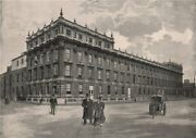 The Treasury, Whitehall. London. Finance 1896 Old Antique Print Picture