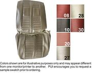 1966 Oldsmobile Cutlass Holiday Front And Rear Seat Covers - Pui