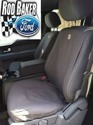 2017 Ford Super Duty Seat Covers Gravel Captains Chair Front Set
