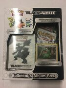 Pokemon Black And White Collectors Album Box Gift Set Promos And More Axew Tcg Ccg