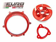 Ducati Panigale 1199 Ducabike Clutch Cover Red+spring Retainer+pressure Plate