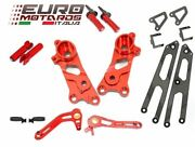 Ducati Scrambler 2014-2016 Ducabike Rearsets Kit For Rider And Passenger Red