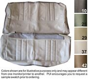 1972 Oldsmobile Cutlass Hardtop Coupe Front And Rear Seat Covers - Pui