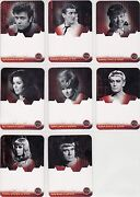 Doctor Who And The Daleks Ultra Rare 8 Card Unsigned Proof Auto Set Ltd To 5