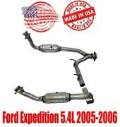 Front Y Pipe Catalytic Converters Fits Ford Expedition 5.4l 2005-2006