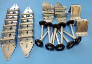 Garage Door Tune Up Kit 16x7 Or 18x7 With Black Nylon Rollers