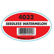 Watermelon Produce Labels With Plu Code 1000 Count Reg24.95