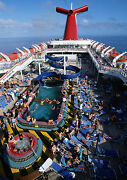 Art Print Poster / Canvas Swimming Pool On Cruise Ship